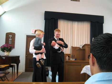 el bautismo de Natalie